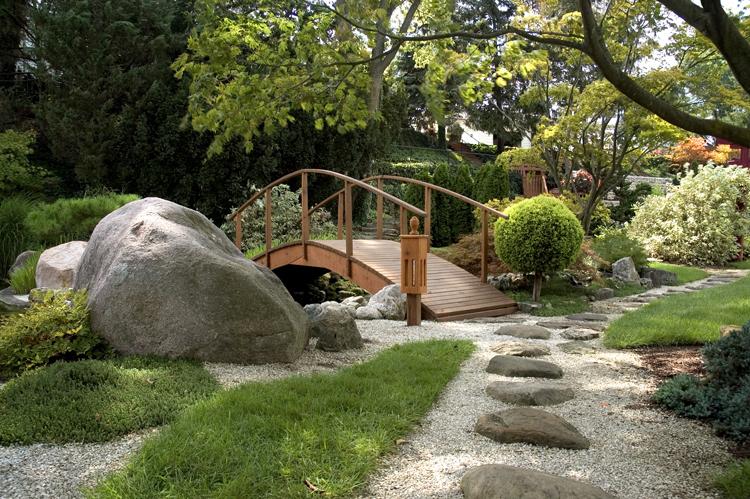 photo photo paysage jardin