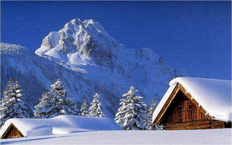 photo paysage neige