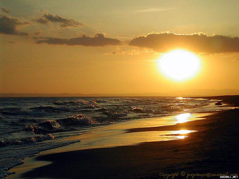 photo photo paysage soleil