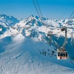 Image paysage ski