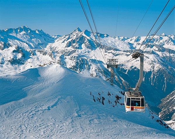 photo image paysage ski