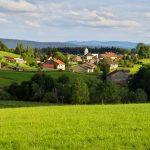Image paysage village