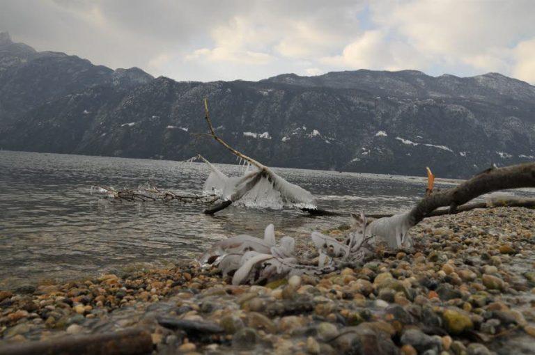 photo paysage gelée