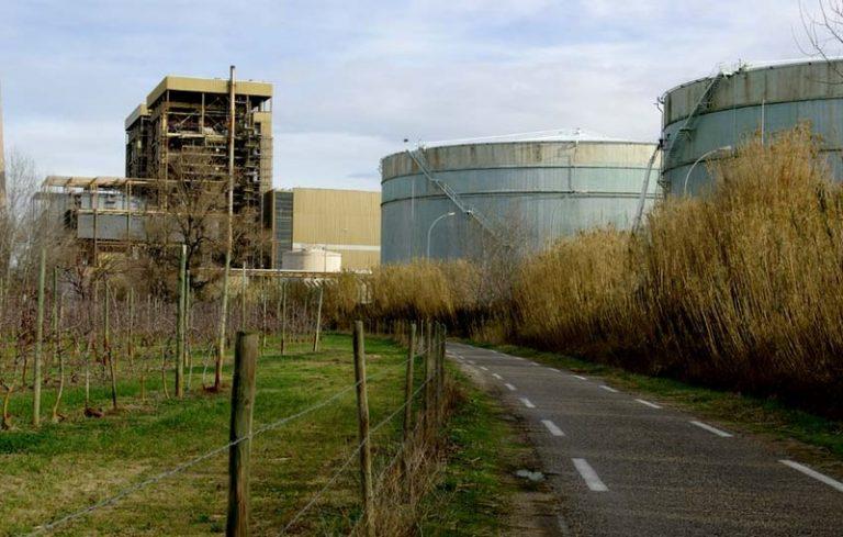 photo paysage industriel