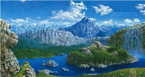 photo paysage joli