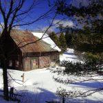 Paysage québec hiver