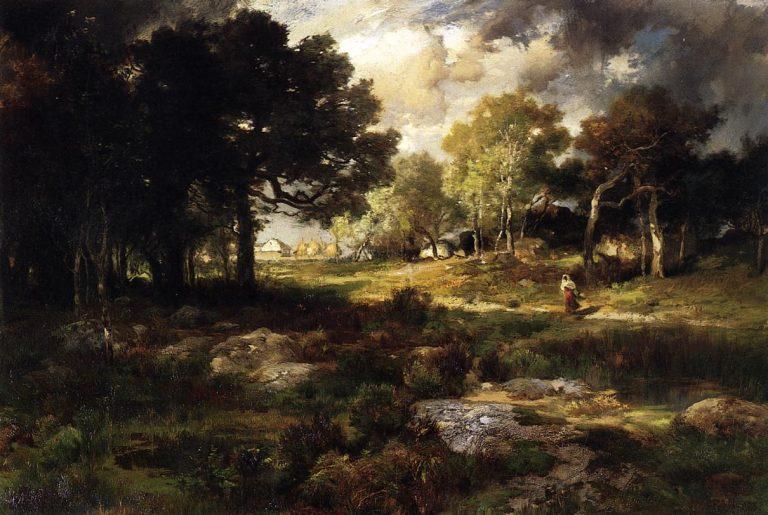photo paysage romantique