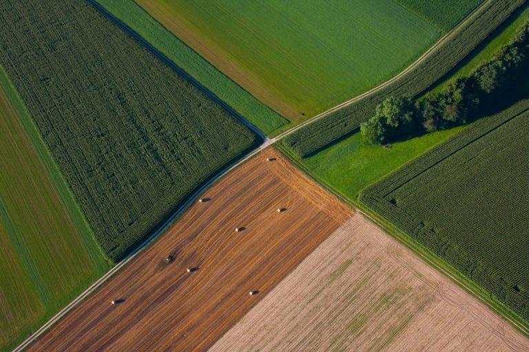 photo paysage vu du ciel