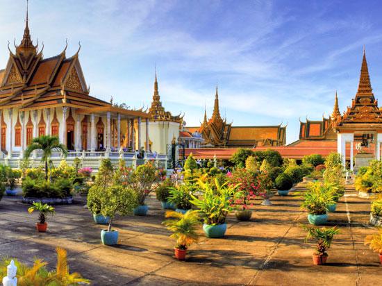 photo image paysage cambodge