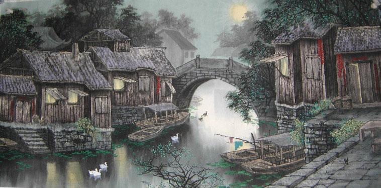 photo image paysage chinois
