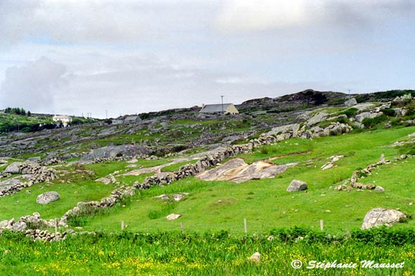 photo photo paysage d'irlande