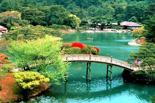 photo photo paysage japonais