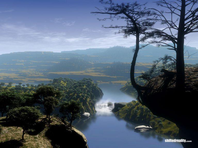 photo image paysage lac