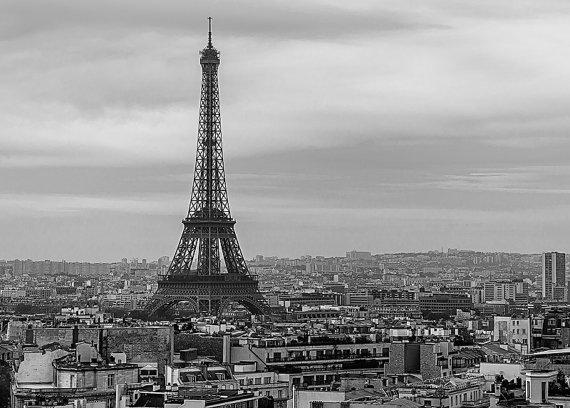 photo photo paysage urbain noir et blanc