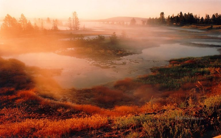 photo paysage yellowstone