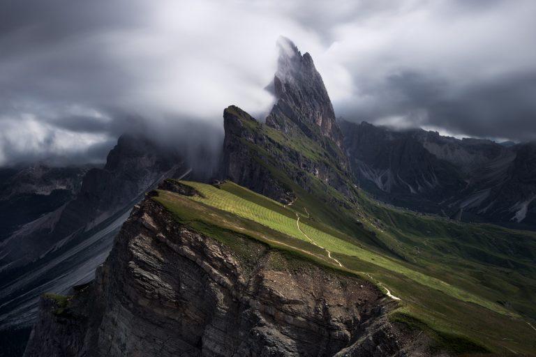 photo image d'un paysage merveilleux