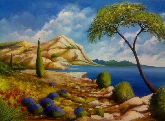 photo image tableau paysage