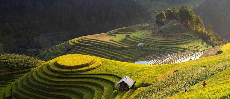 photo paysage asiatique