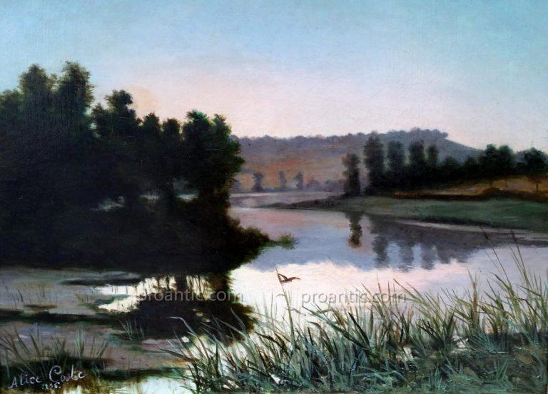 photo photo paysage bord de l'eau