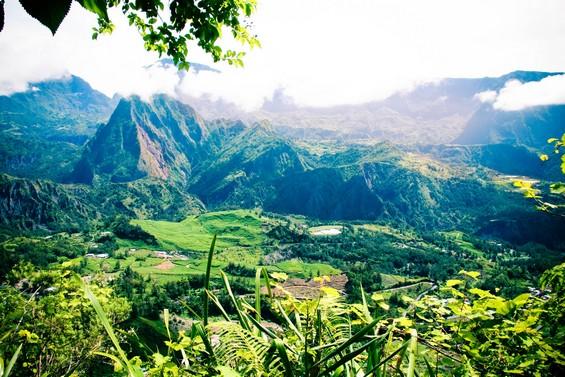photo paysage la reunion