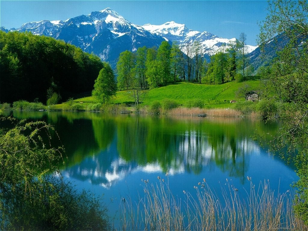 Paysage lac for Paysage