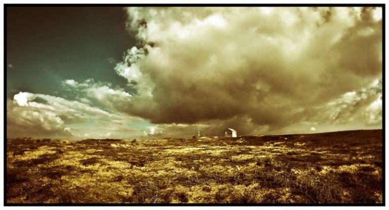 photo photo paysage sepia