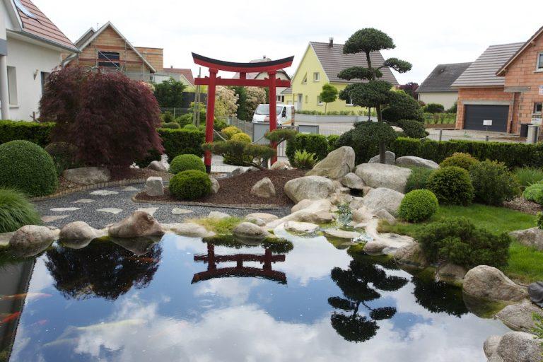 photo photo paysage jardin japonais