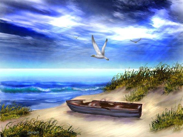 photo photo paysage mer